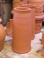 Kensington Palace chimney pots