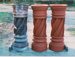 2 unusual new pots for house in Somerset