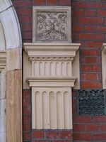 new capital and pilaster
