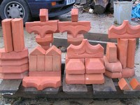 brick shapes for Foxes Tower